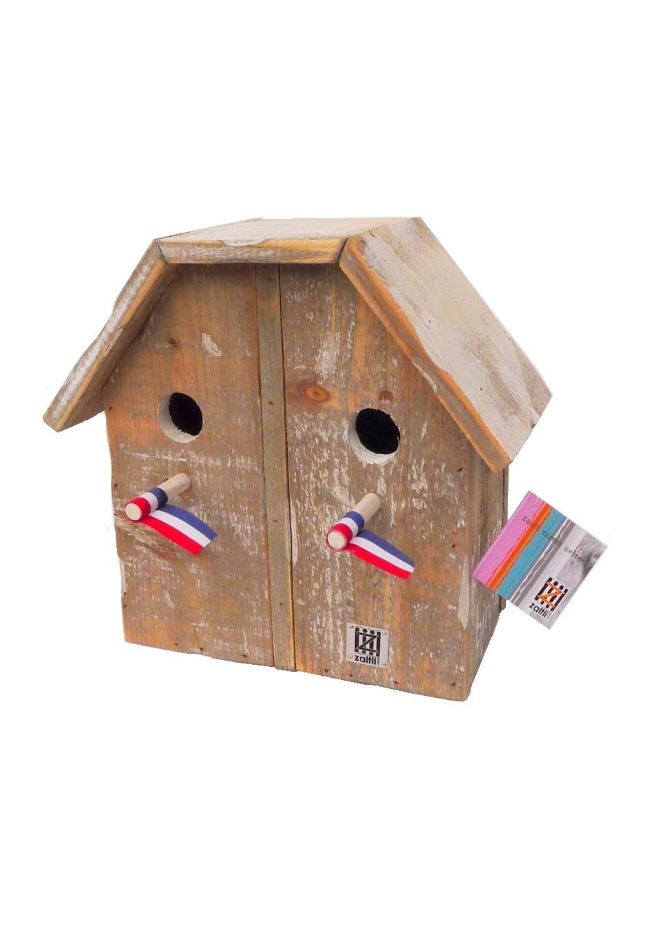 Vogelhäuschen 2/1 dach-1