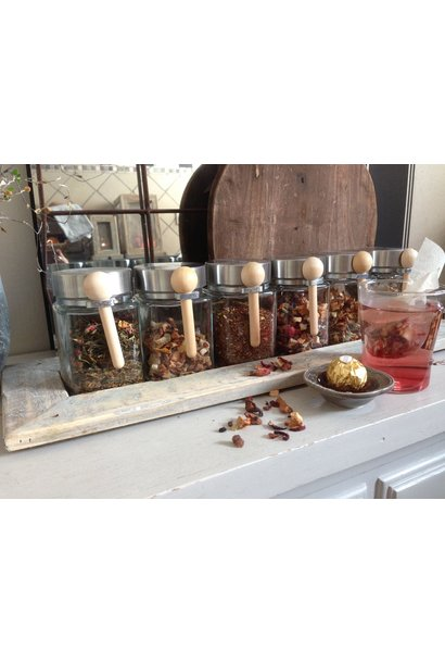 tray 6 jars