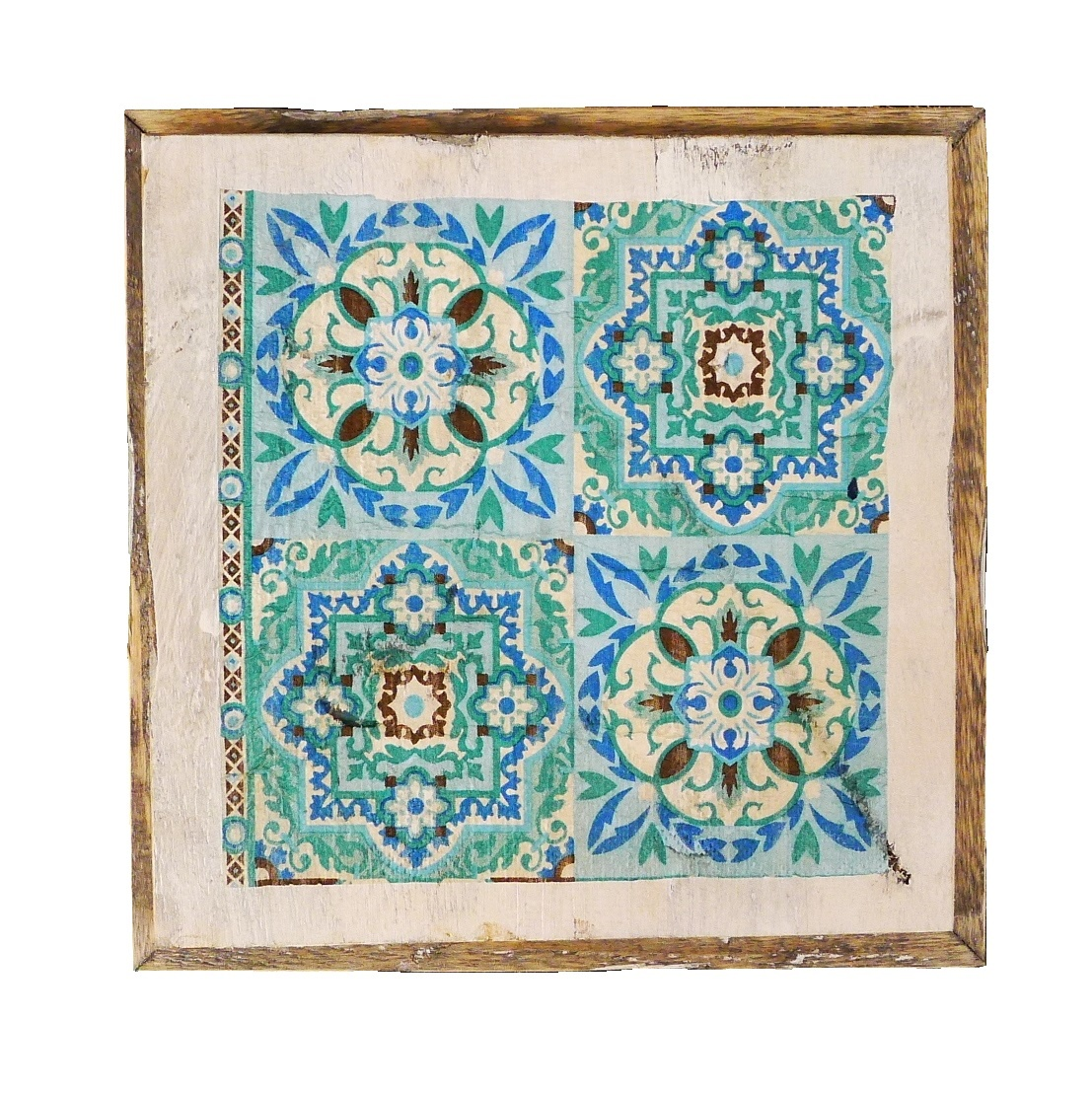 wooden tile old dutch india green out-1
