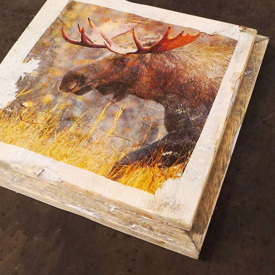 wooden tile old dutch moose out-2