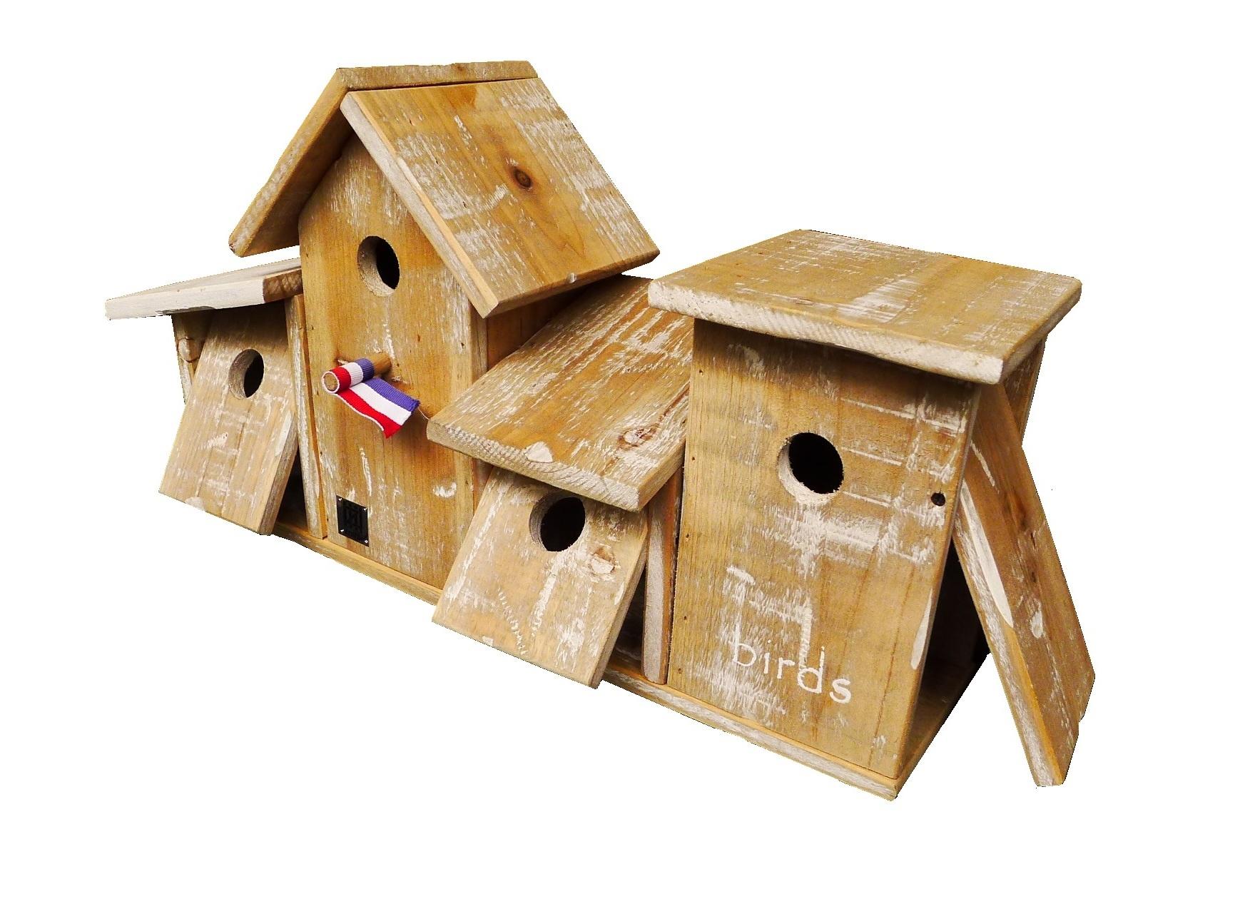 birdhouse old dutch bird village 53-2