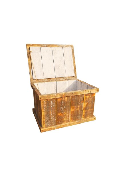 Crate with cover