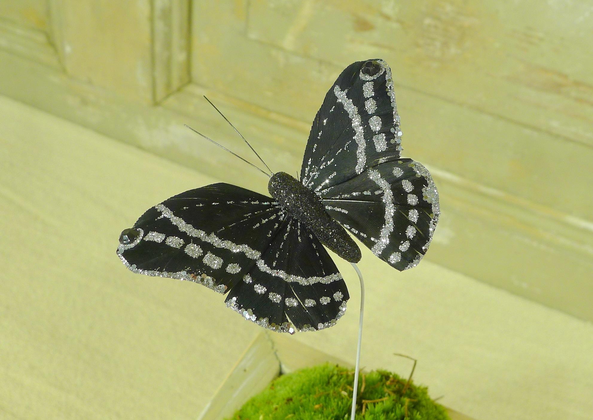 flor dec fabric butterfly 7.5 black-4