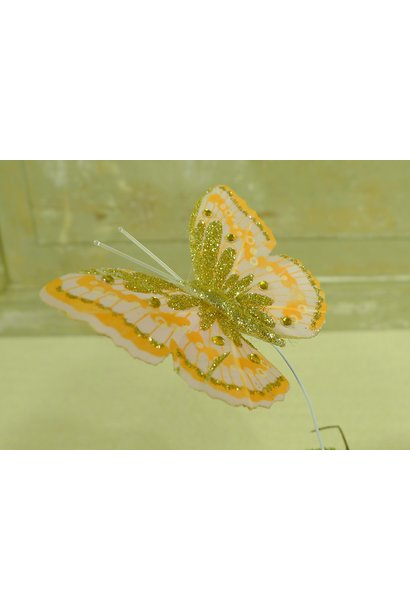 schmetterling orange