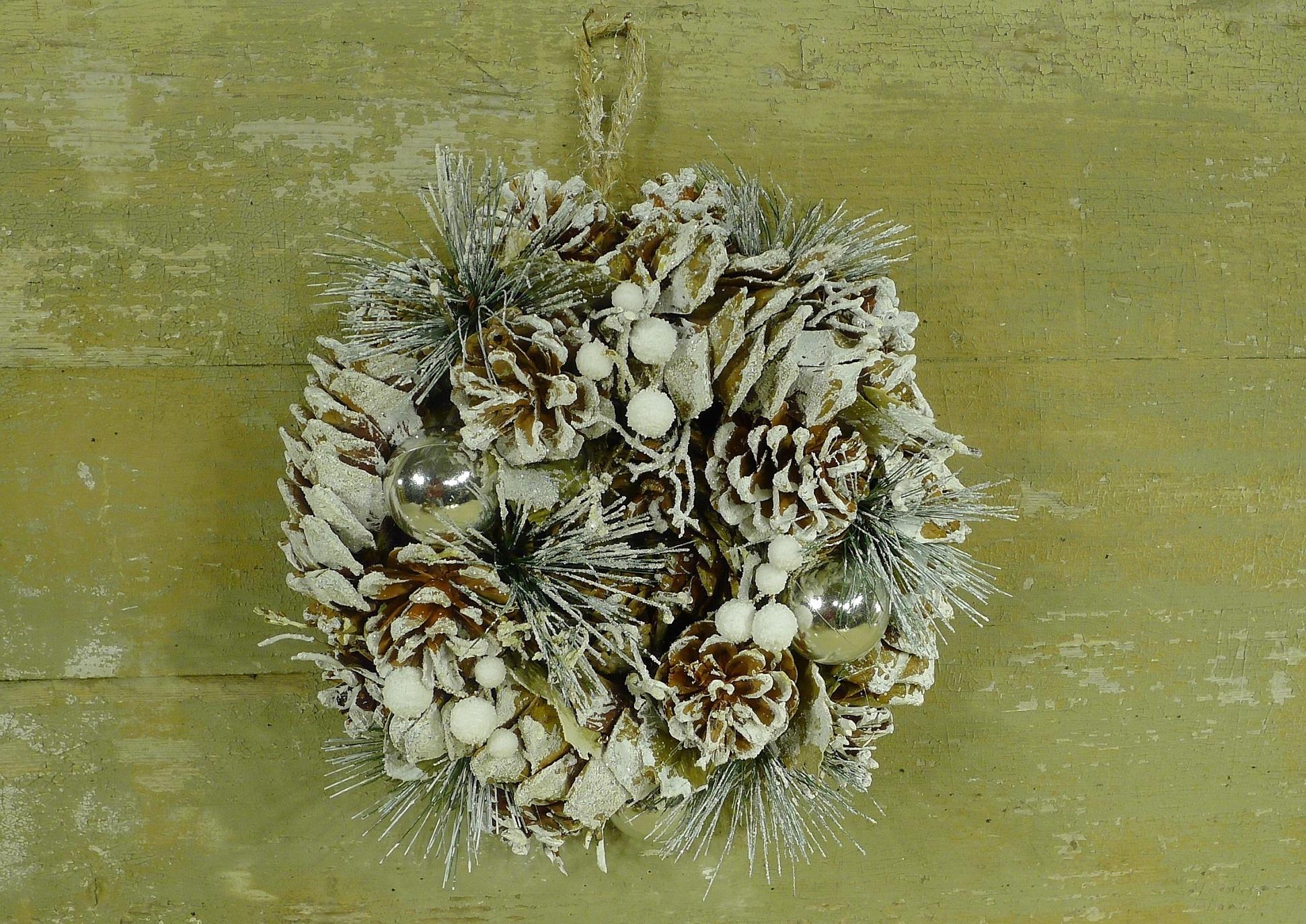 xmas nature garland 24 white-2