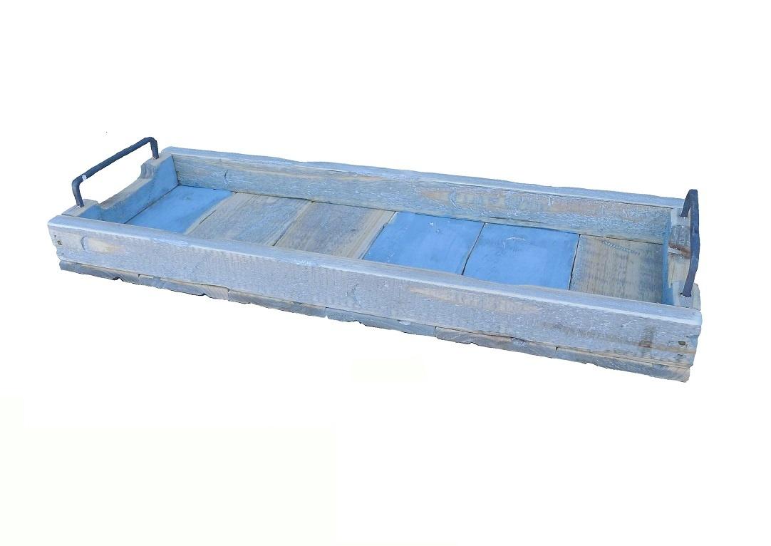 Tablett rechteckig blau - 58/20-1