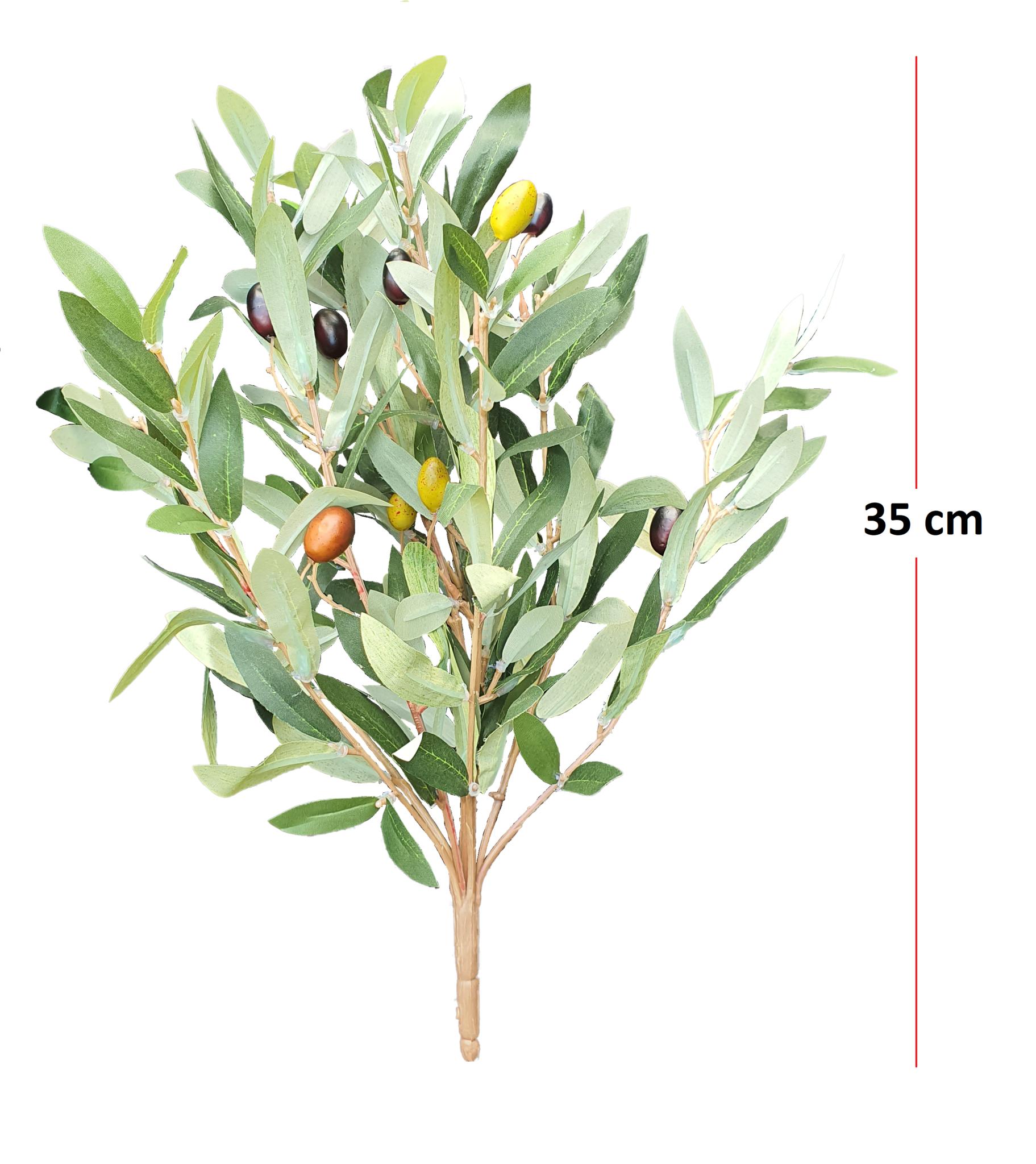 Olive bush 35cm green-3