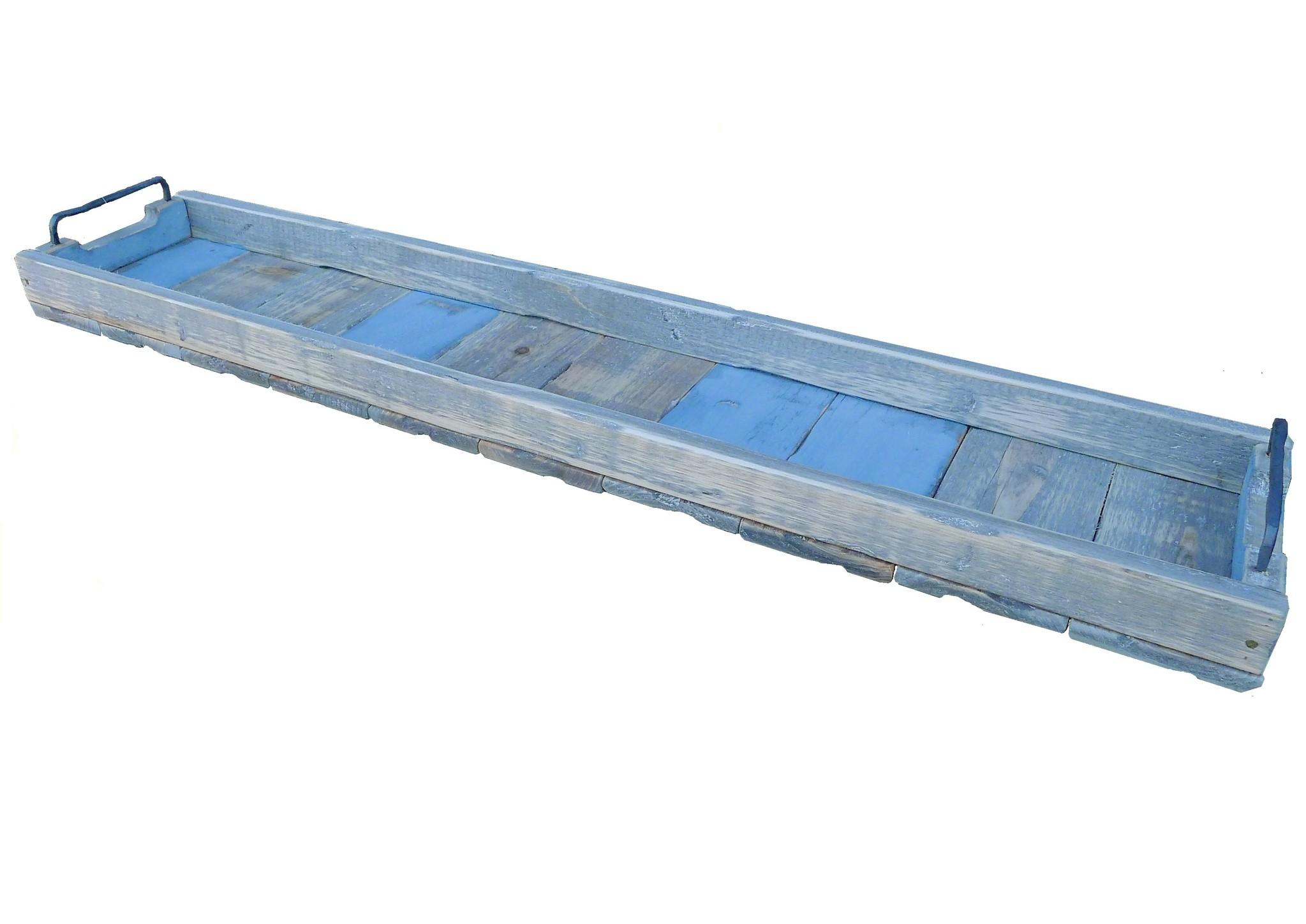 Tablett rechteckig blau - 98/20-2