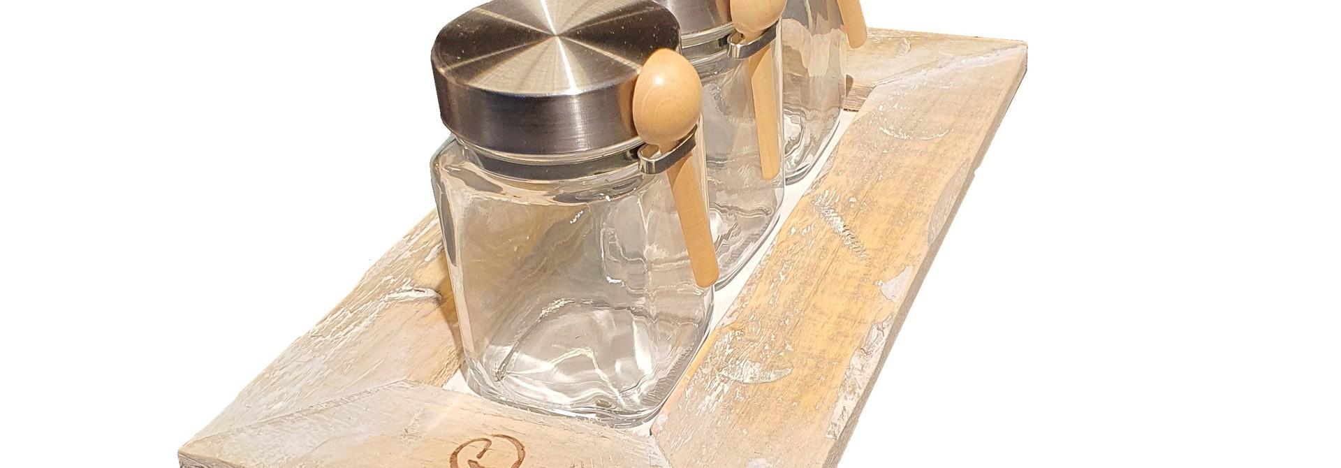 tray old dutch 3 teapot