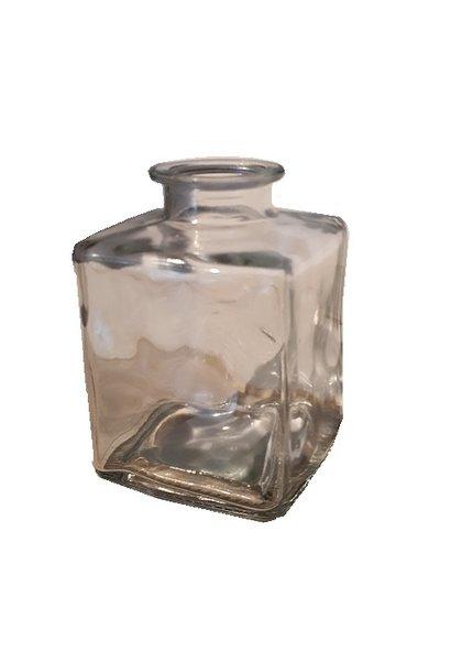 glas accubakje met hals 7.5 cm