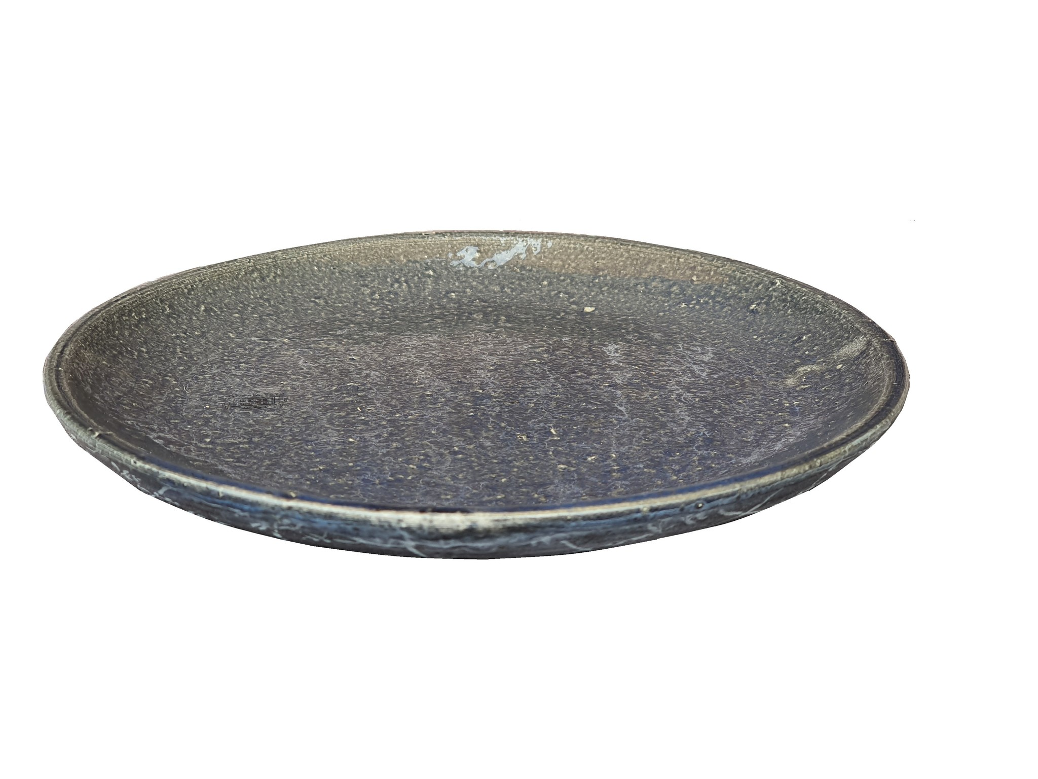 pot ceramic plate blue casa vivant 23-2