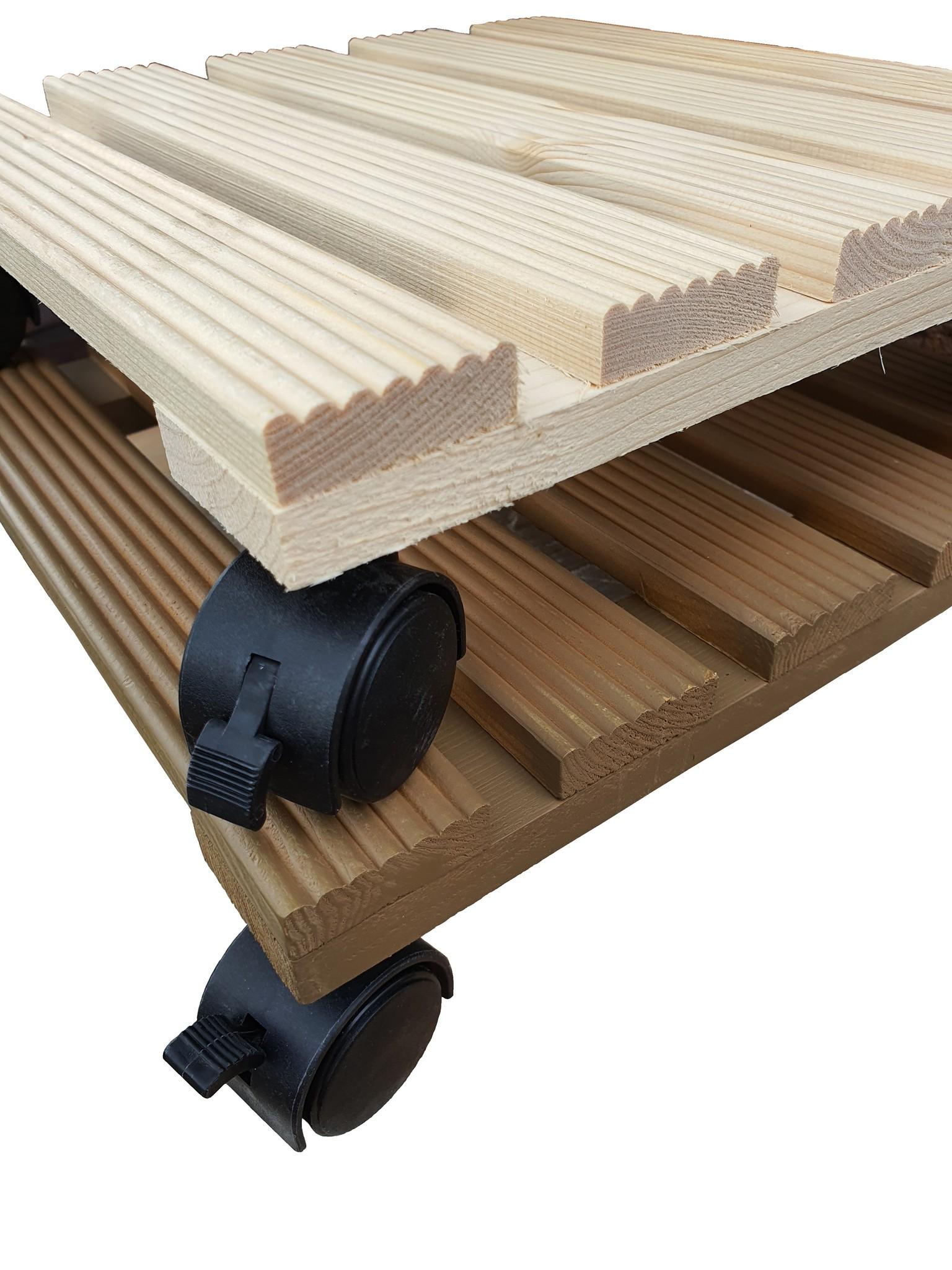 home dec wood plant roller mix 29-1