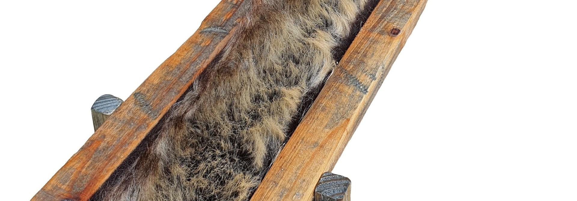 tray old dutch fur brown 54