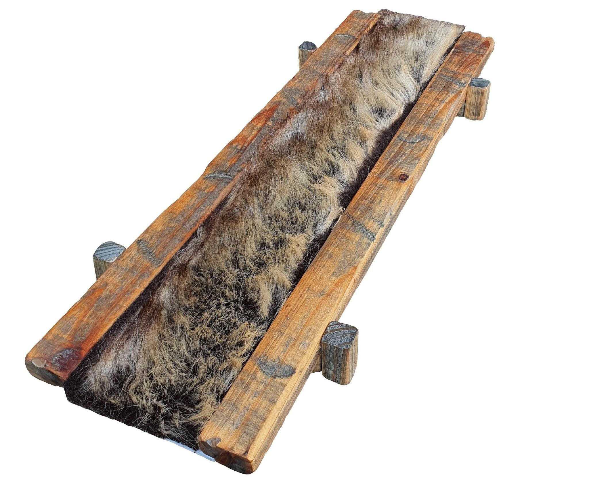 tray old dutch fur brown 54-1