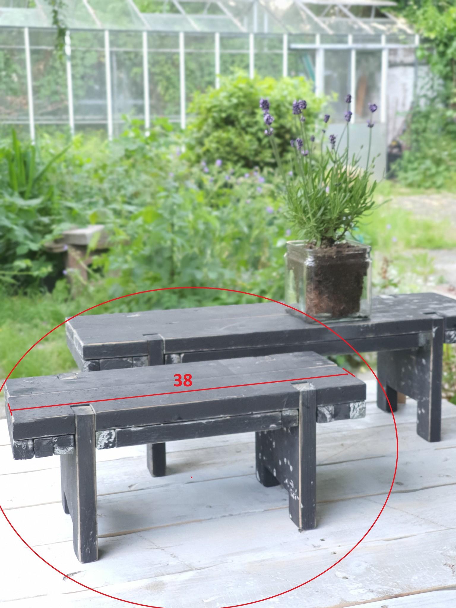 home dec    black berlin    window table 38-2