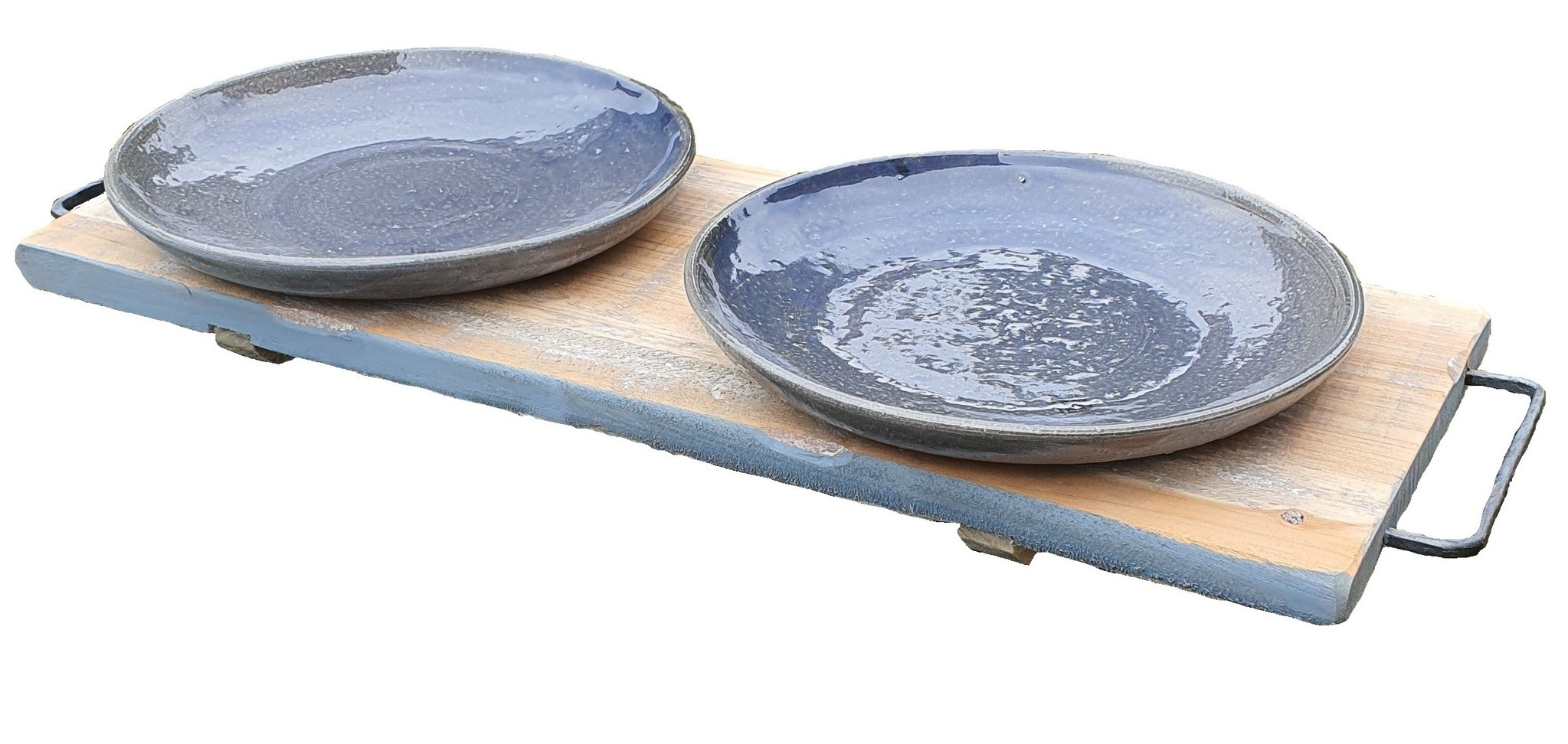 home deco old dutch pan hold 52 blue-3
