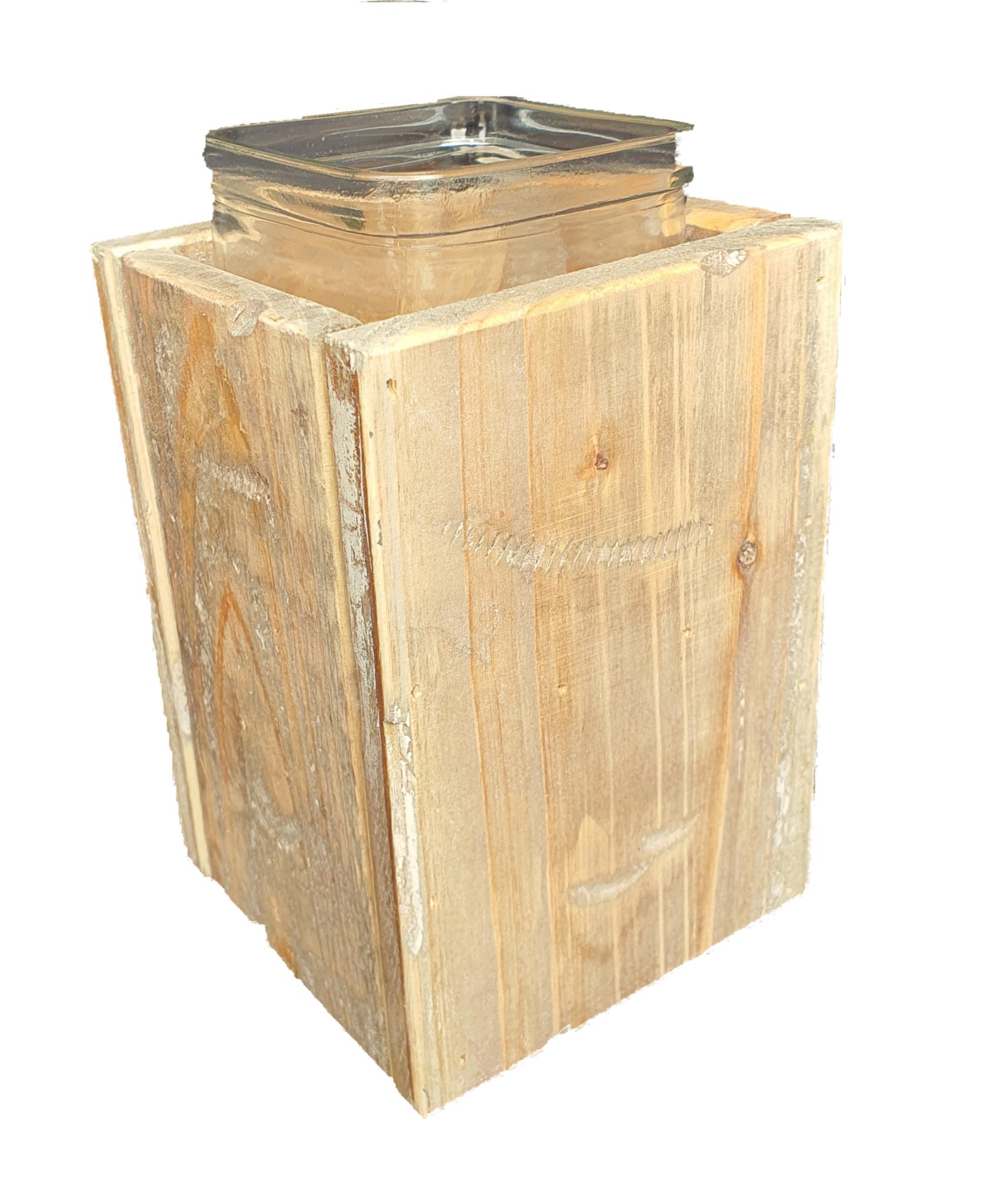 pot old dutchglass hold 2 sides 15-2