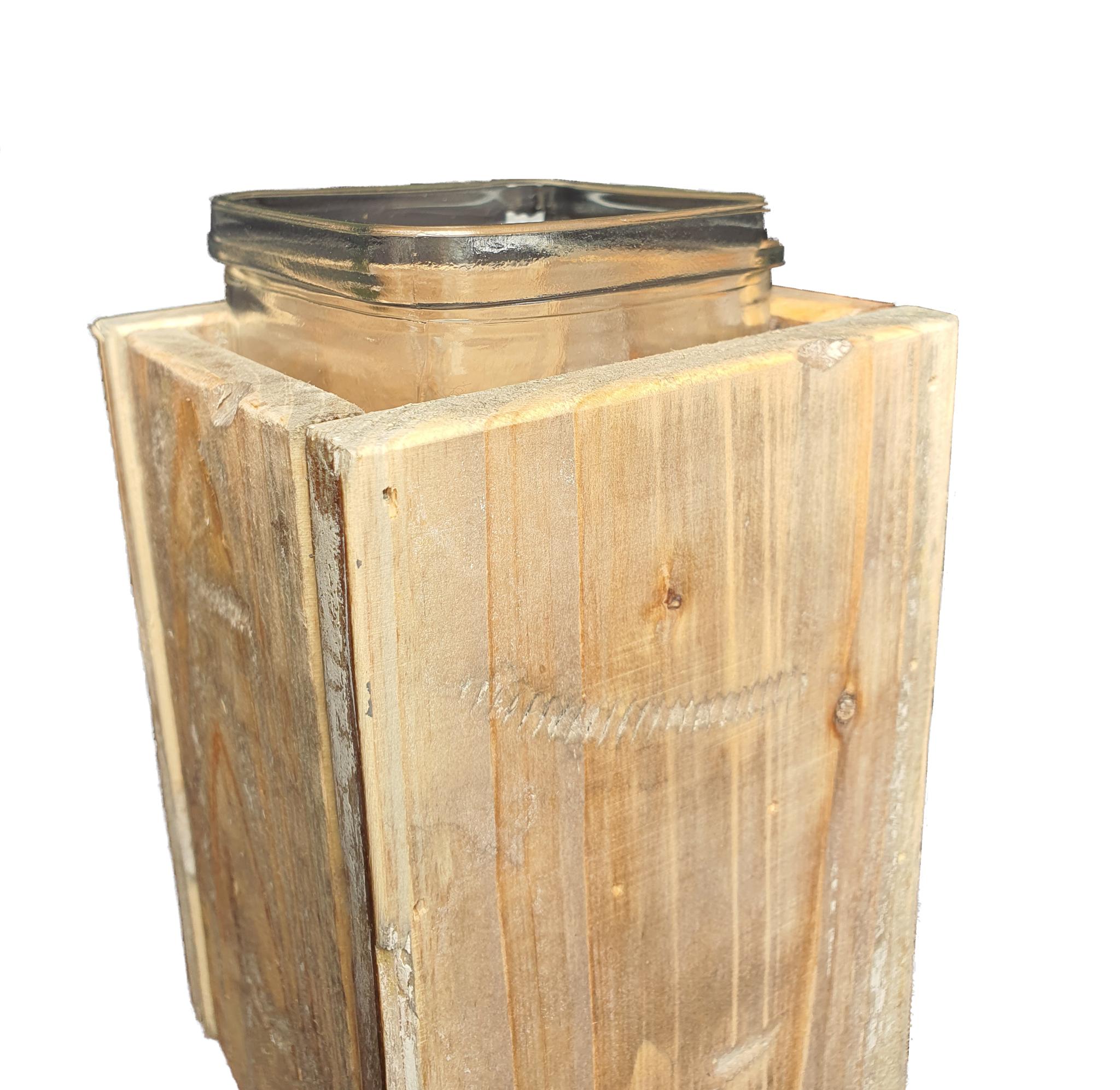 pot old dutchglass hold 2 sides 15-7