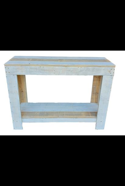 ibiza white side table