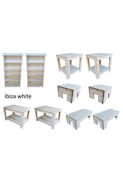 ibiza white meubelset 10 delig