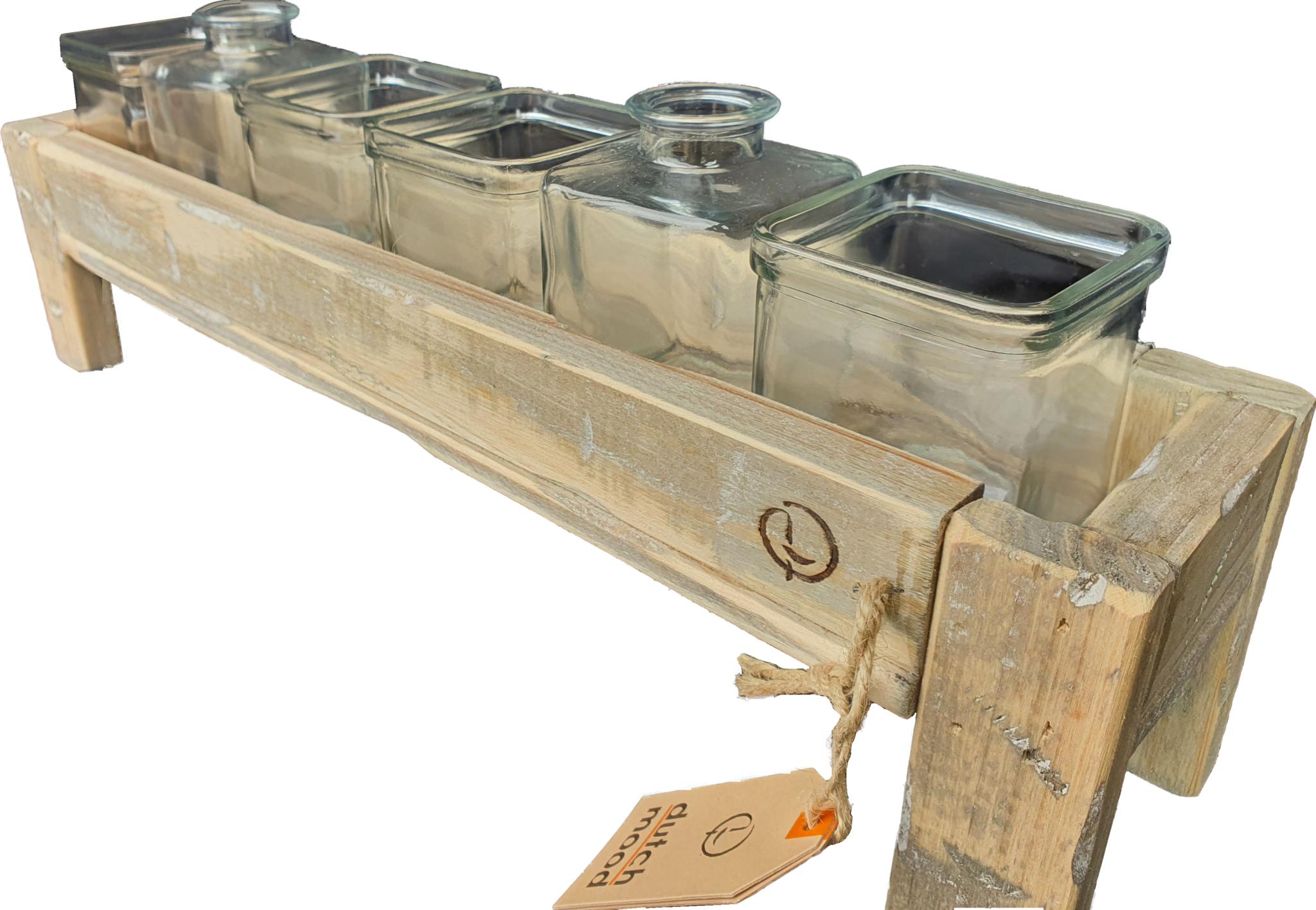 tray old dutch glass hold narrow 50-1