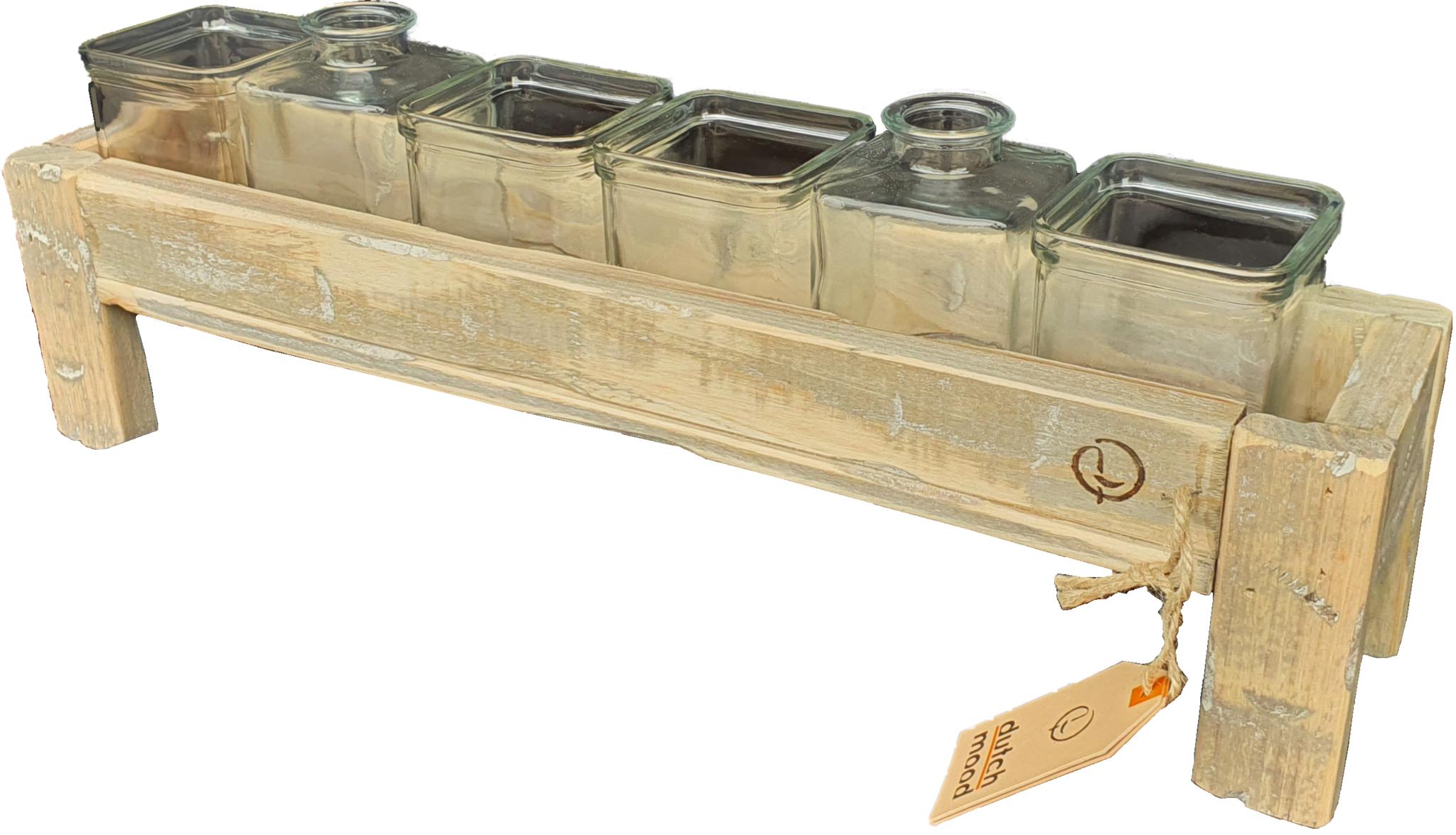 tray old dutch glass hold narrow 50-2