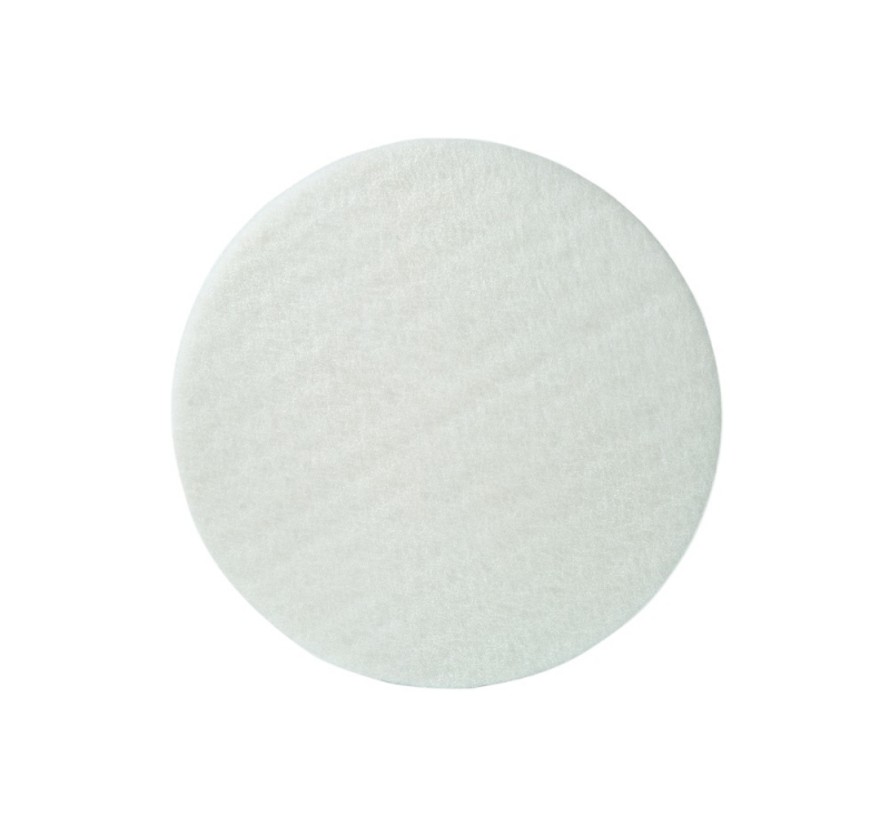 """witte pad 16"""" 10mm"""