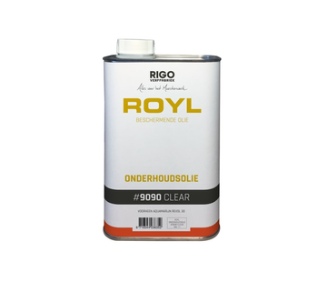 Royl ROYL ONDERHOUDSOLIE CLEAR  # 9090