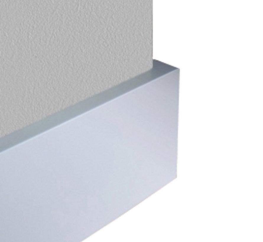 GLADDE FOLIEPLINT WIT MDF-V313 15 x 79 mm