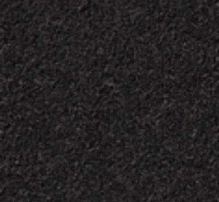 Antraciet schoonloopmat 130 cm breed per 10 cm