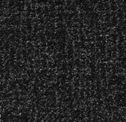 Maximus Zwart/grijs schoonloopmat 130 cm breed per 10 cm
