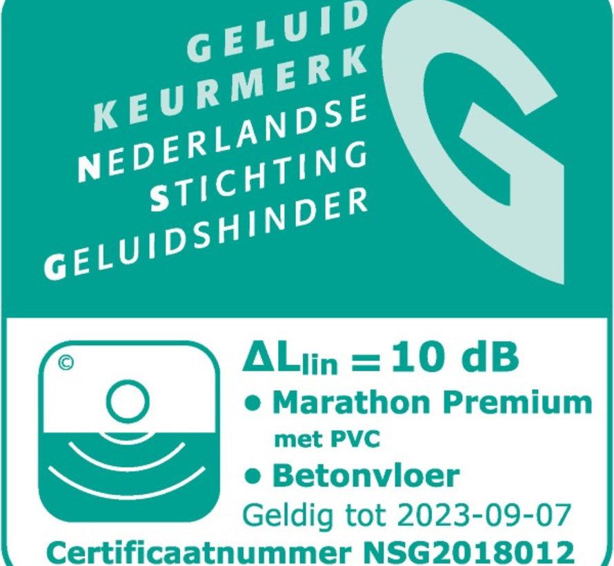 Marathon Premium ondervloer 8 mm
