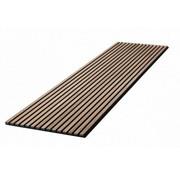 Plintonline Wand paneel akoestiek walnoot 600X2400 MM