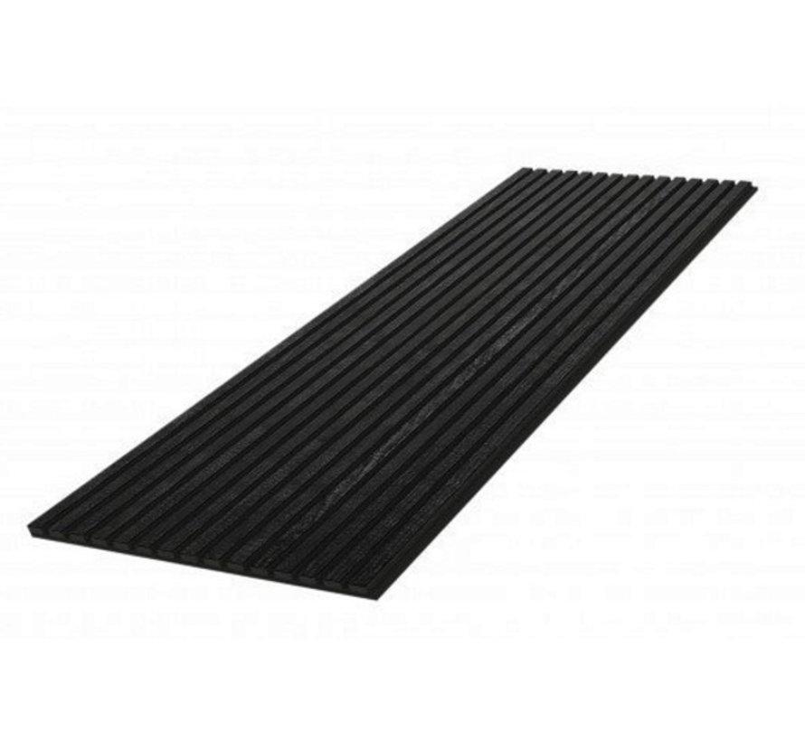 Wand paneel akoestiek zwart  600X2400 MM