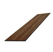 Plintonline Wand paneel akoestiek rustiek eiken bruin 600X2400 MM