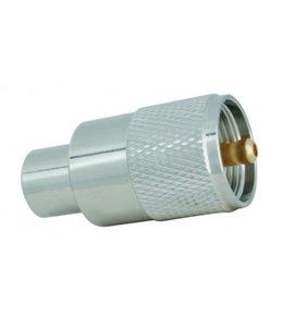 SSB UHF male Aircom / Ecoflex 10 Plus