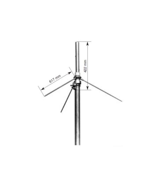 Kathrein K-711530 VHF basis antenne