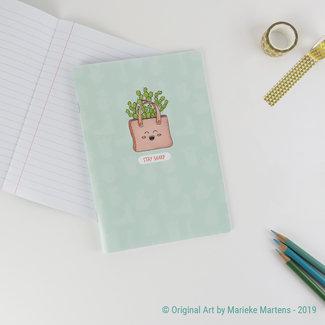 Cactus Tas - Notitieboekje