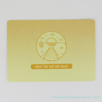 Summer Vibes - Postkaart
