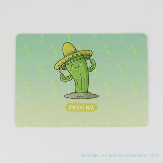 Buenos dias - Postkaart