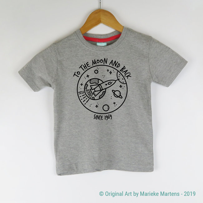 To the moon and back T-shirt - Kids - 2/7 years