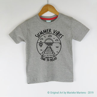 Summer Vibes T-shirt - Kids - 2/7 jaar