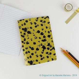 Cheetah goudbruin - Notitieboekje