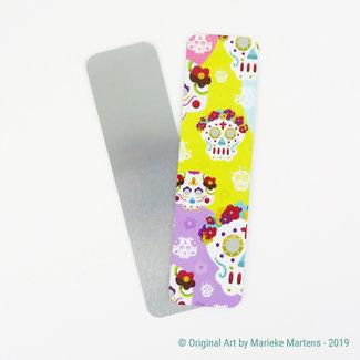 Dia de los muertos women - Bookmark - Aluminum Pocket