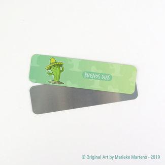 Buenos dias - Bookmark - Aluminum Pocket