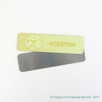 Summer Vibes - Boekenlegger - Aluminium Pocket