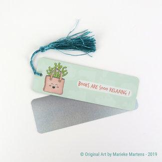 Cactus Bag - Bookmark - Aluminum Standard