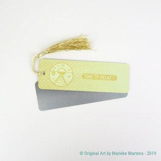 Summer Vibes - Bookmark - Aluminum Standard