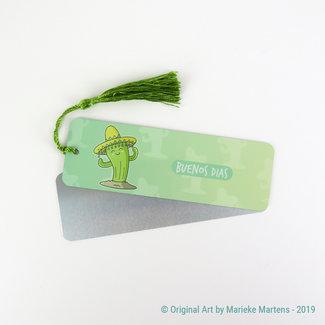 Buenos dias - Bookmark - Aluminum Standard