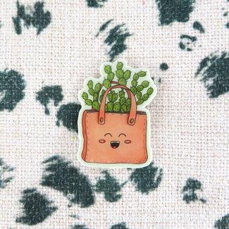 Cactus Cutie Tas - Pin